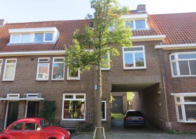 Combining houses 'Vonderkwartier' Eindhoven